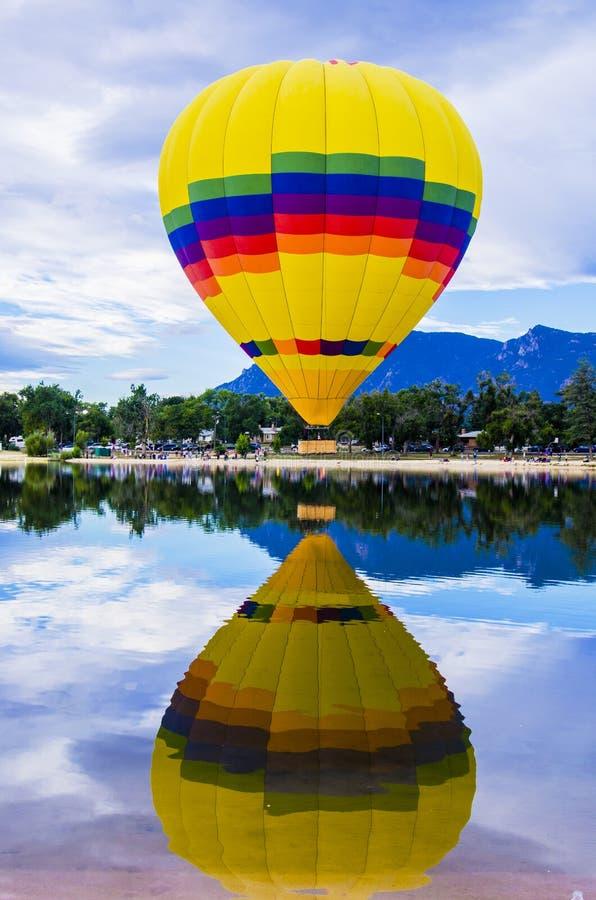 Liftoff anual do Dia do Trabalhador de Colorado Springs imagem de stock royalty free