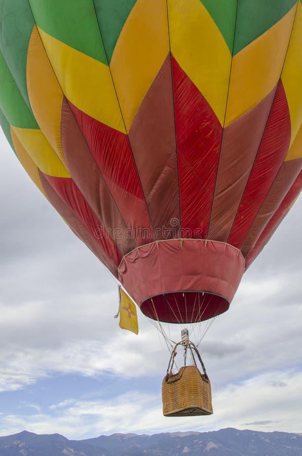 Liftoff anual do Dia do Trabalhador de Colorado Springs fotografia de stock royalty free