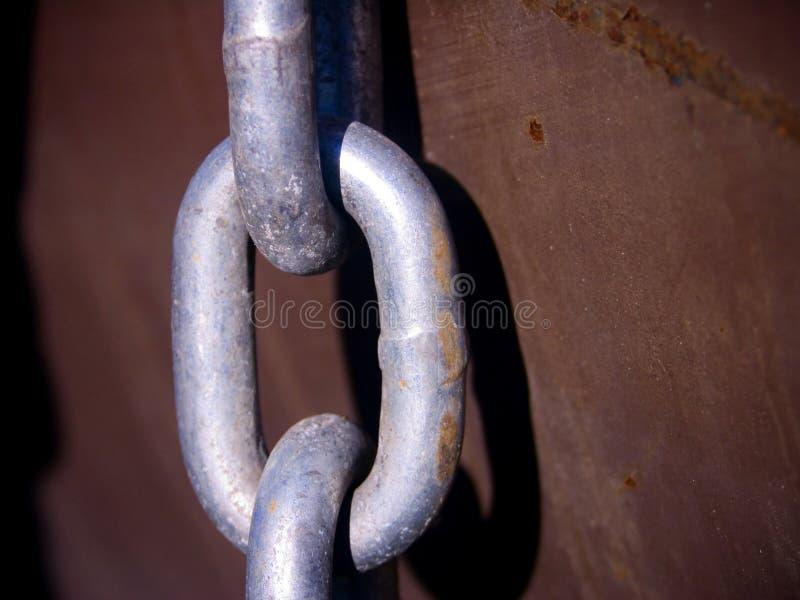 Download Ligação Chain - Metal Oxidado Imagem de Stock - Imagem de metal, forte: 529105