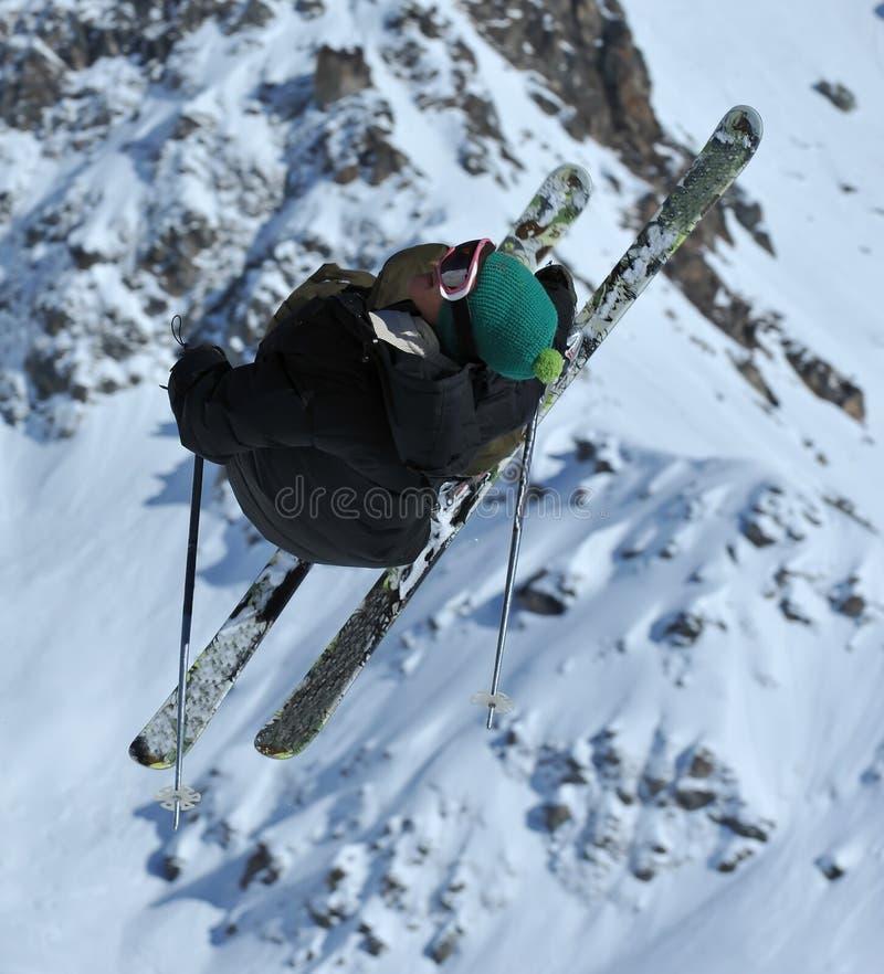 Ligação em ponte de esqui foto de stock