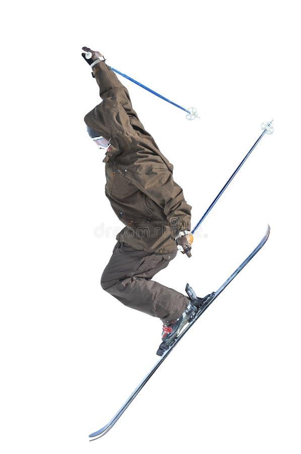 Ligação em ponte de esqui fotografia de stock royalty free