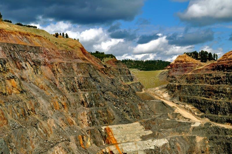 Ligação South Dakota da mina de Homestake foto de stock