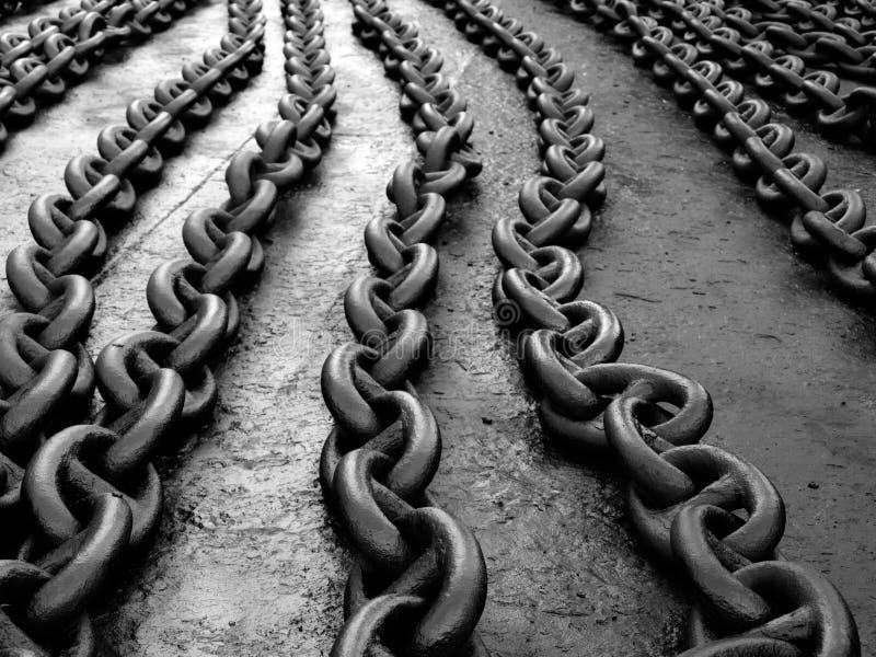 Ligações Chain imagens de stock royalty free