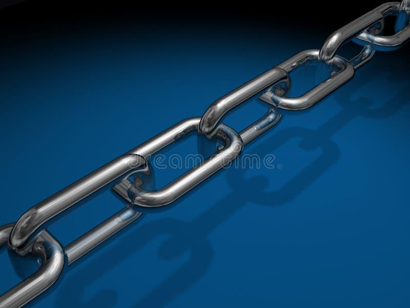 Ligações Chain ilustração stock