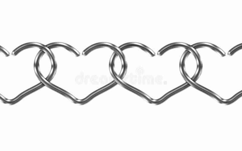 Ligações do amor ilustração royalty free