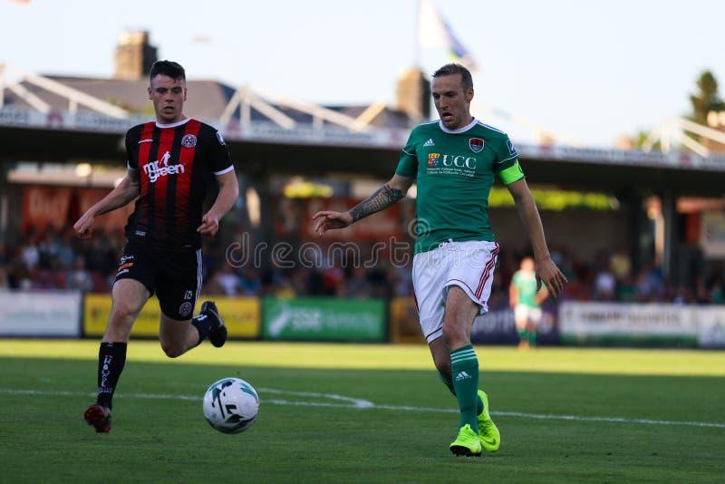 Liga av Irland den första uppdelningsmatchen: Cork City FC vs bohemmet FC arkivfoton