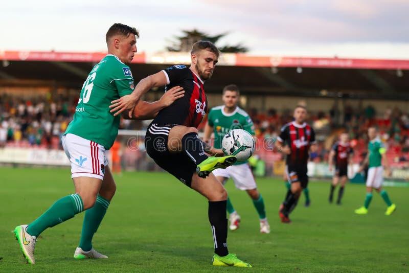 Liga av Irland den första uppdelningsmatchen: Cork City FC vs bohemmet FC royaltyfria foton