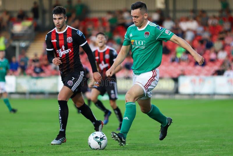 Liga av Irland den första uppdelningsmatchen: Cork City FC vs bohemmet FC fotografering för bildbyråer