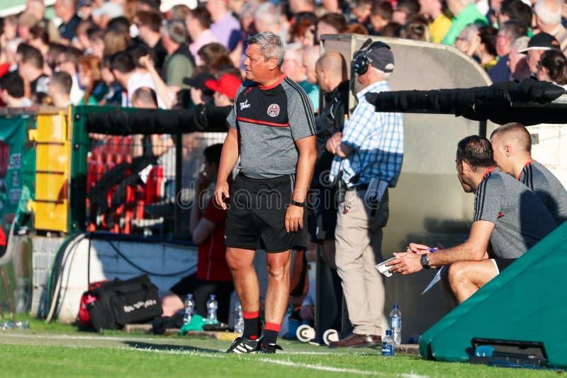 Liga av Irland den första uppdelningsmatchen: Cork City FC vs bohemmet FC arkivbild