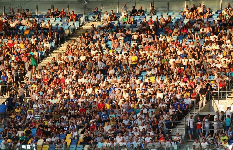 Liga de campeones de UEFA: FC Dynamo Kyiv v Young Boys fotografía de archivo libre de regalías