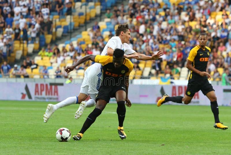 Liga de campeones de UEFA: FC Dynamo Kyiv v Young Boys foto de archivo libre de regalías