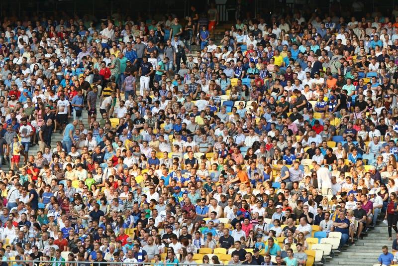 Liga de campeones de UEFA: FC Dynamo Kyiv v Young Boys imagen de archivo libre de regalías