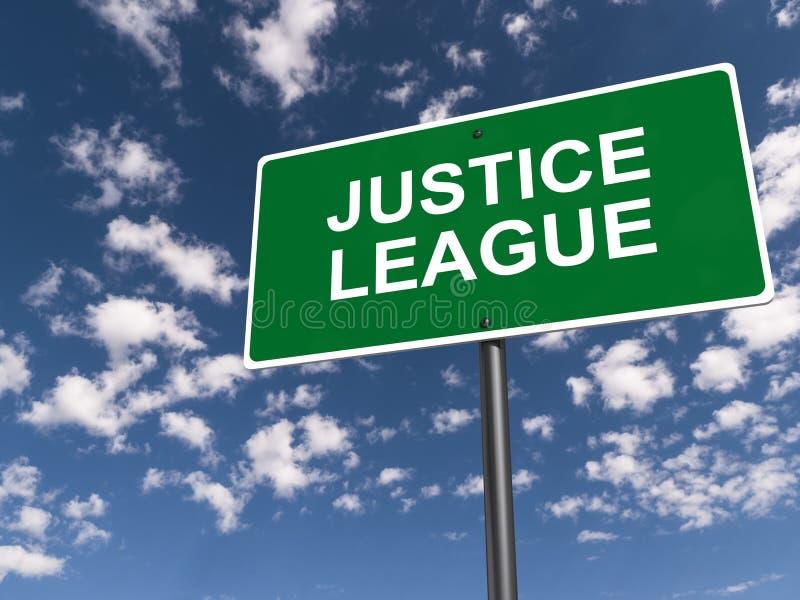 Liga de justicia imágenes de archivo libres de regalías