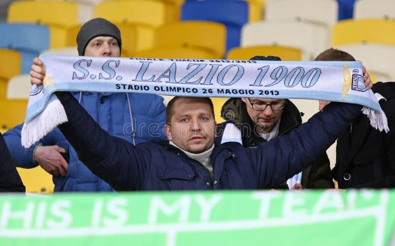 Liga del Europa de la UEFA: FC Dynamo Kyiv v SS Lazio foto de archivo libre de regalías