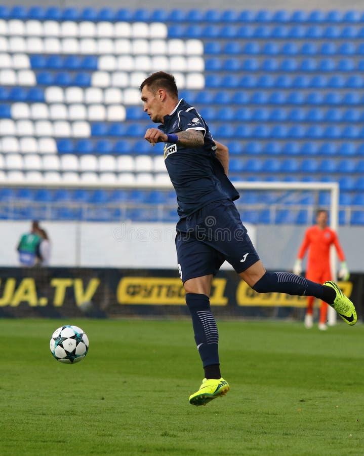 Liga del Europa de la UEFA: Olimpik Donetsk contra PAOK fotos de archivo libres de regalías