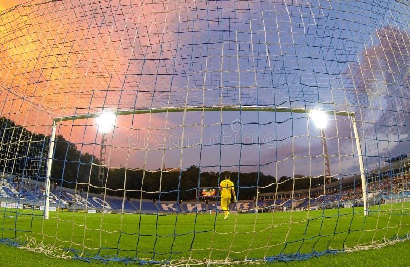 Liga del Europa de la UEFA: Olimpik Donetsk contra PAOK imágenes de archivo libres de regalías