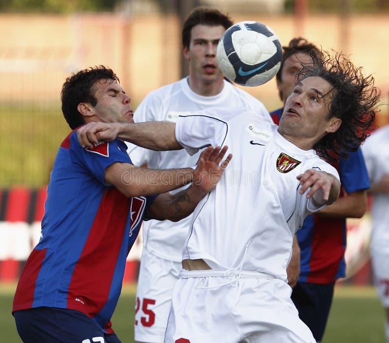 Liga do futebol de Hngarian primeiro fotos de stock royalty free