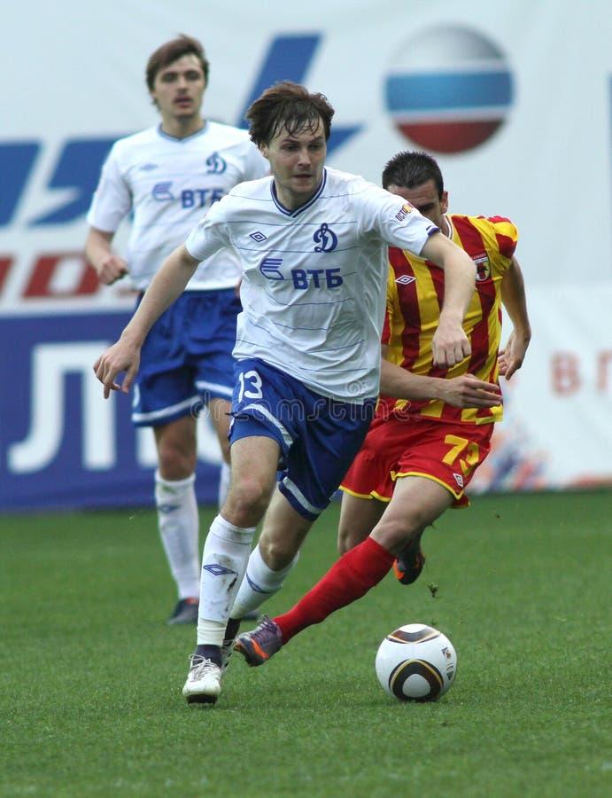 Liga do futebol do russo primeiro imagem de stock