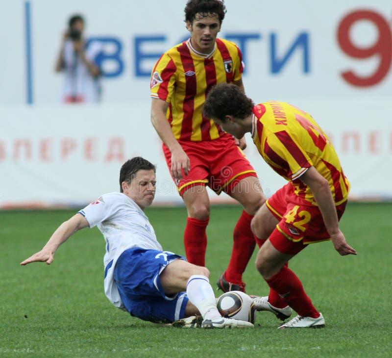 liga footballowa premier rosjanin obraz royalty free