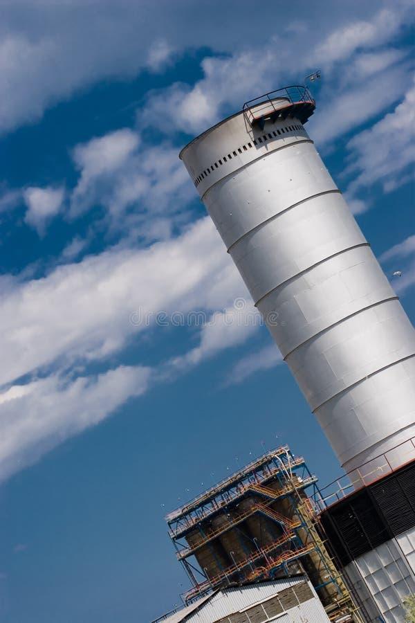 Liga industrial fotografia de stock