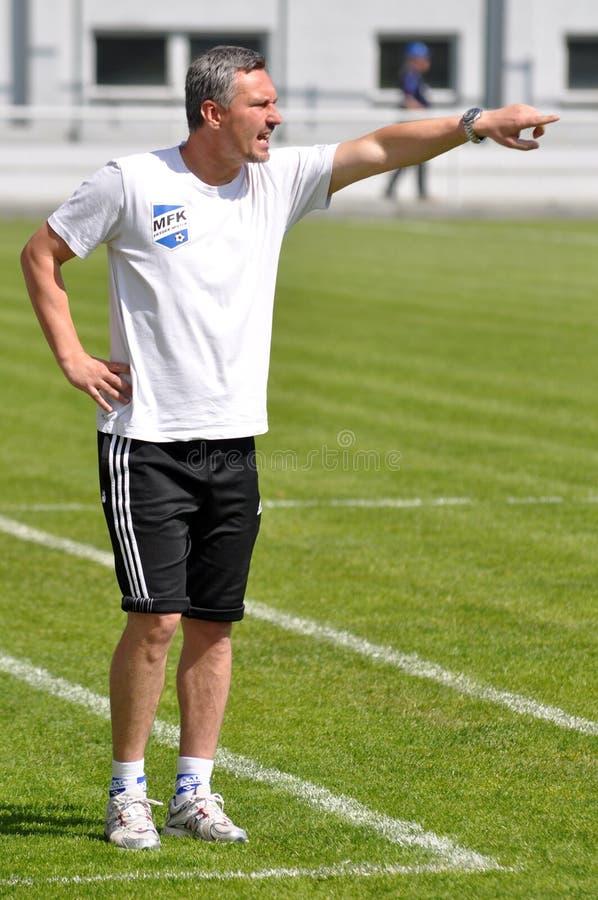 Liga Moravian-Silesian, treinador de futebol M. Duhan