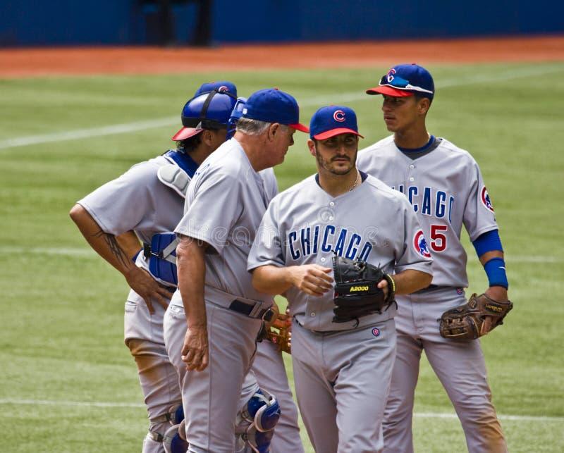 Liga Nacional de Basebol: Lou Piniella fotos de stock royalty free