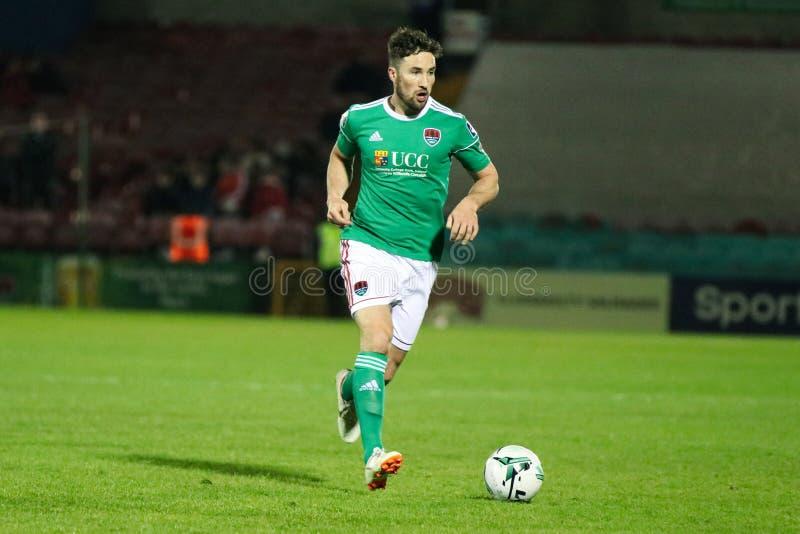 Liga von Match Irland-Premiers Division zwischen Cork City FC gegen St Patrick athletisches FC lizenzfreies stockfoto