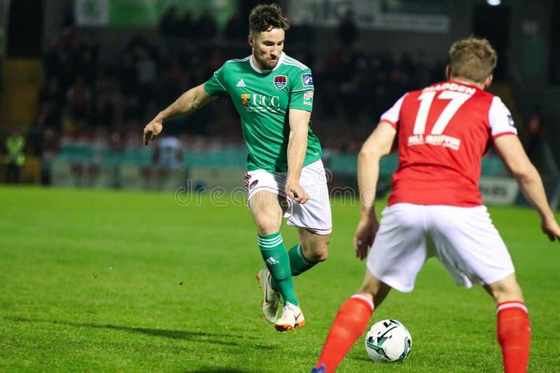 Liga von Match Irland-Premiers Division zwischen Cork City FC gegen St Patrick athletisches FC stockbilder