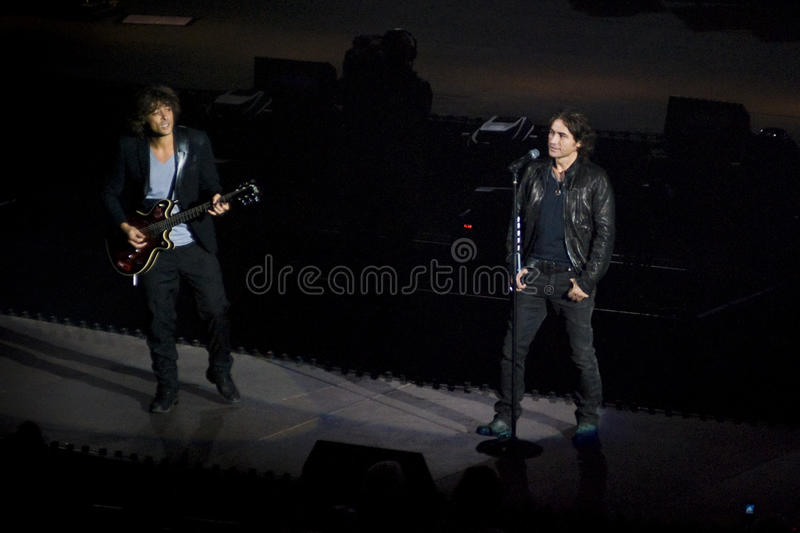 Ligabue in Concert royalty free stock photos