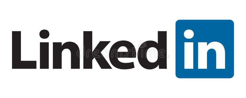 Ligado en logotipo libre illustration