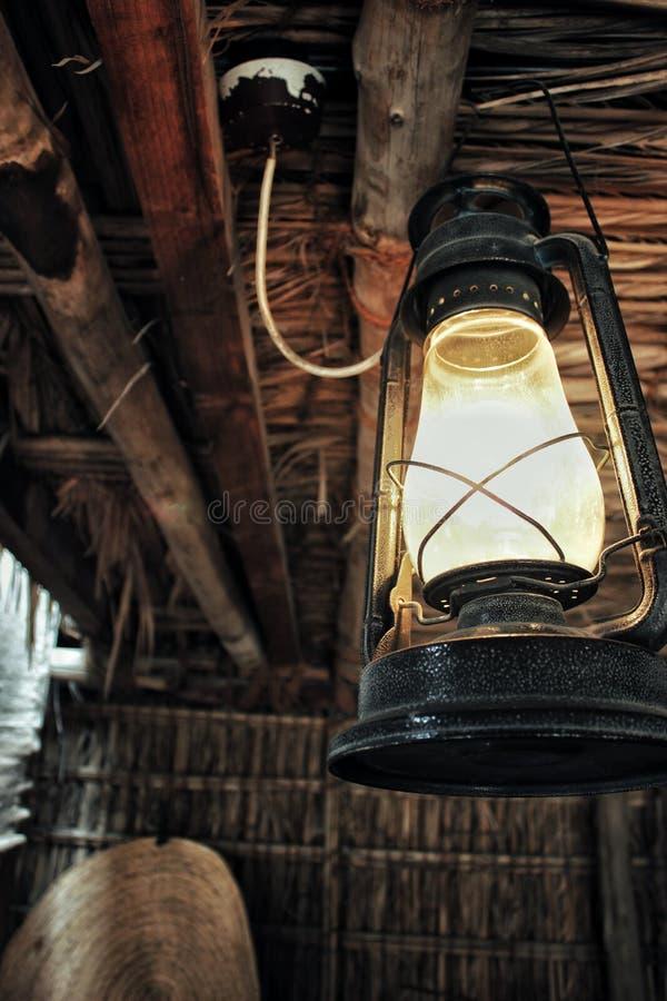 Ligeramente lámpara imagen de archivo