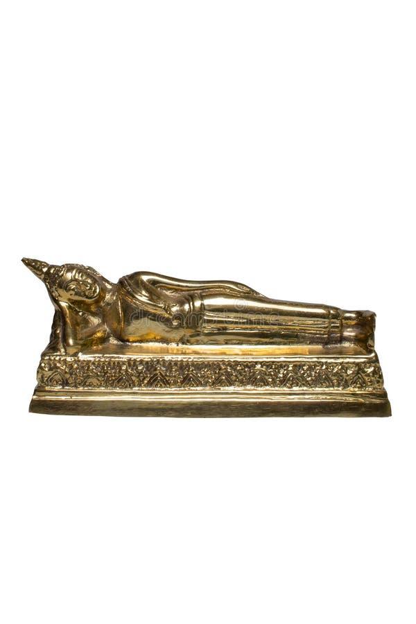 Ligga för Buddhastaty arkivfoton