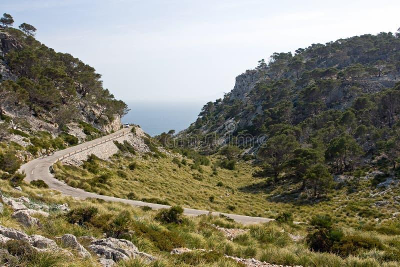 Liggande Mallorca Royaltyfri Bild