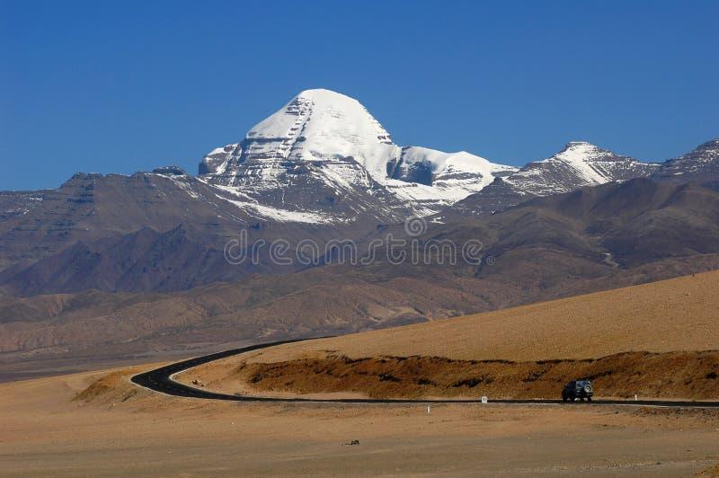 liggande tibet royaltyfri bild