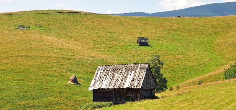 Liggande Transylvania arkivfoto