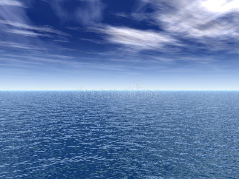 Liggandevatten Arkivfoton