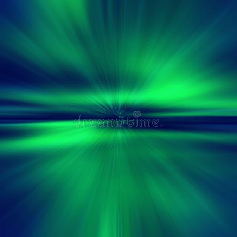 Ligh sem emenda, sem emenda, do norte, Aurora Borealis, g claro ilustração do vetor