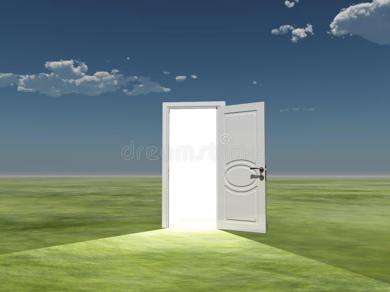 Download Light stock illustration. Image of beyond, escape, concept - 25523981