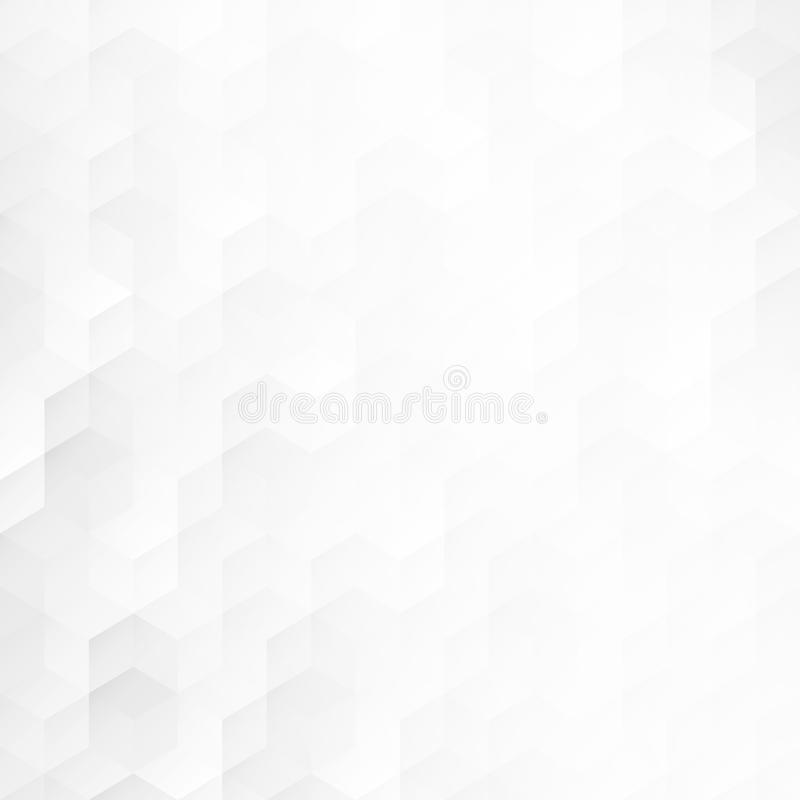 Light abstract background with geometric shapes. Vector white and gray texture vector illustration