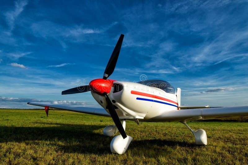 Light aircraft royalty free stock image