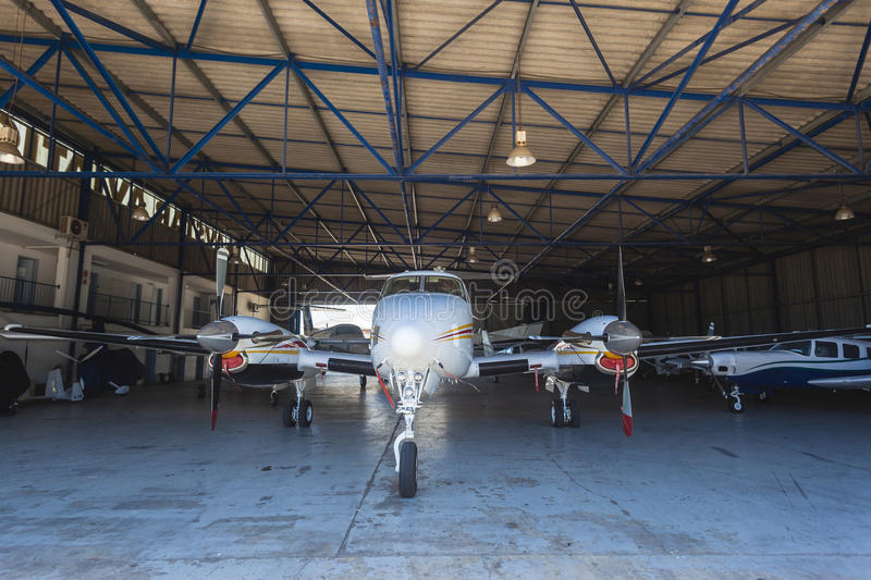 Download Light Aircrafts Planes Hanger Editorial Photography - Image: 28266512