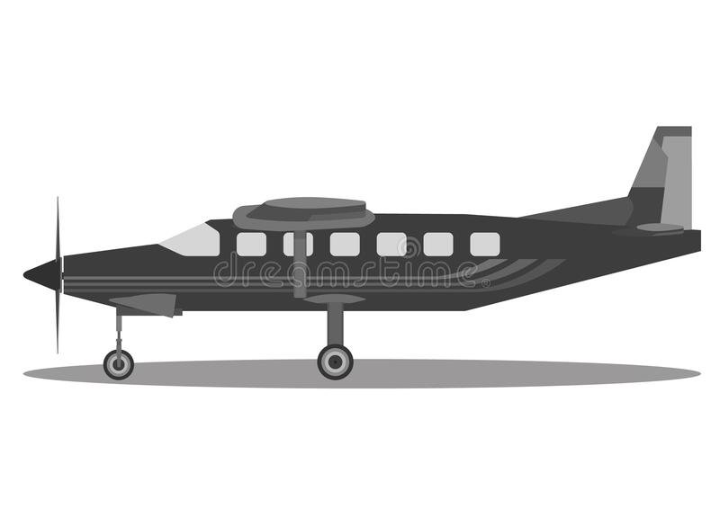 Light aircraft, Vector stock photo