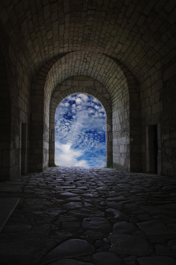 Free Light At The End Of The Tunnel Royalty Free Stock Photo - 11933685