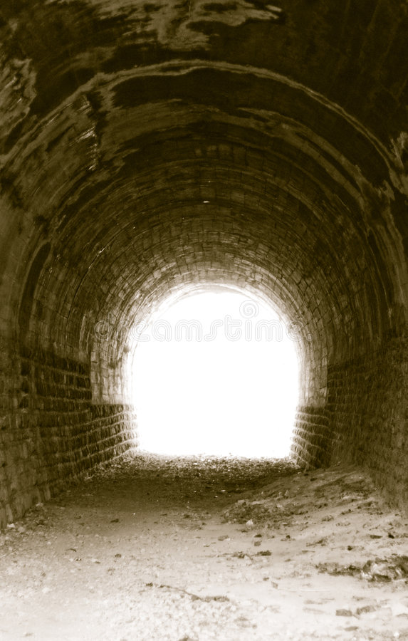 Free Light At The End Of The Tunnel Royalty Free Stock Photography - 3349947