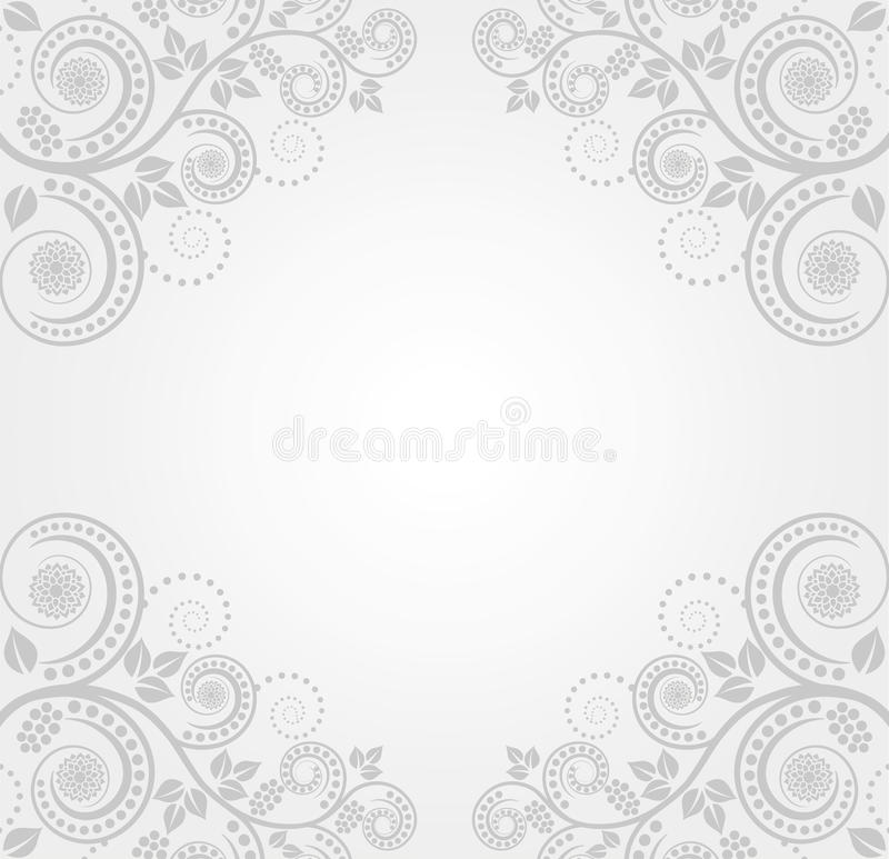 Download Light background stock vector. Image of floral, baroque - 24731180