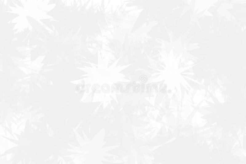 Light background with abstract snowflakes on the glass. The texture of the frozen surface. Light winter, Christmas pattern vector illustration