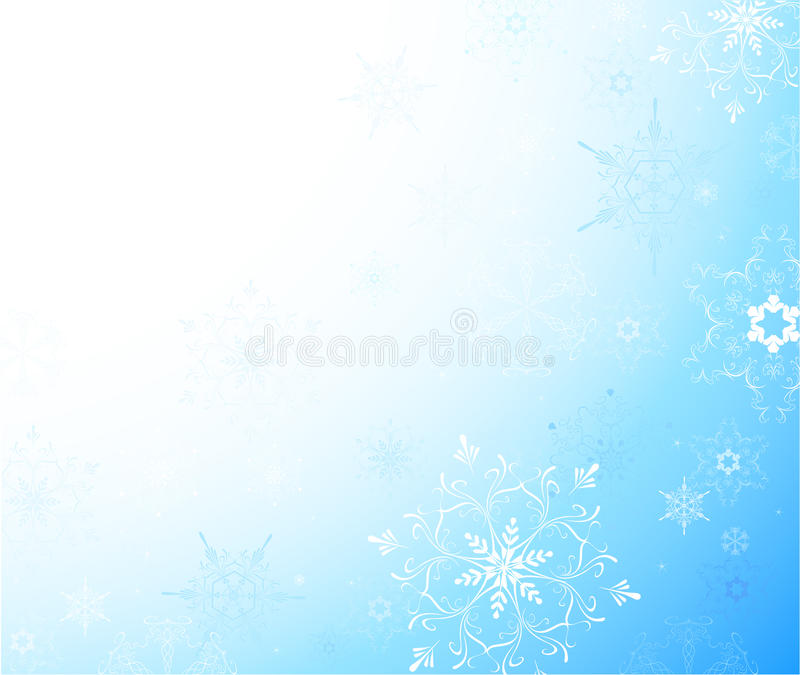 Download Light Background With Snowflakes Stock Images - Image: 17315774
