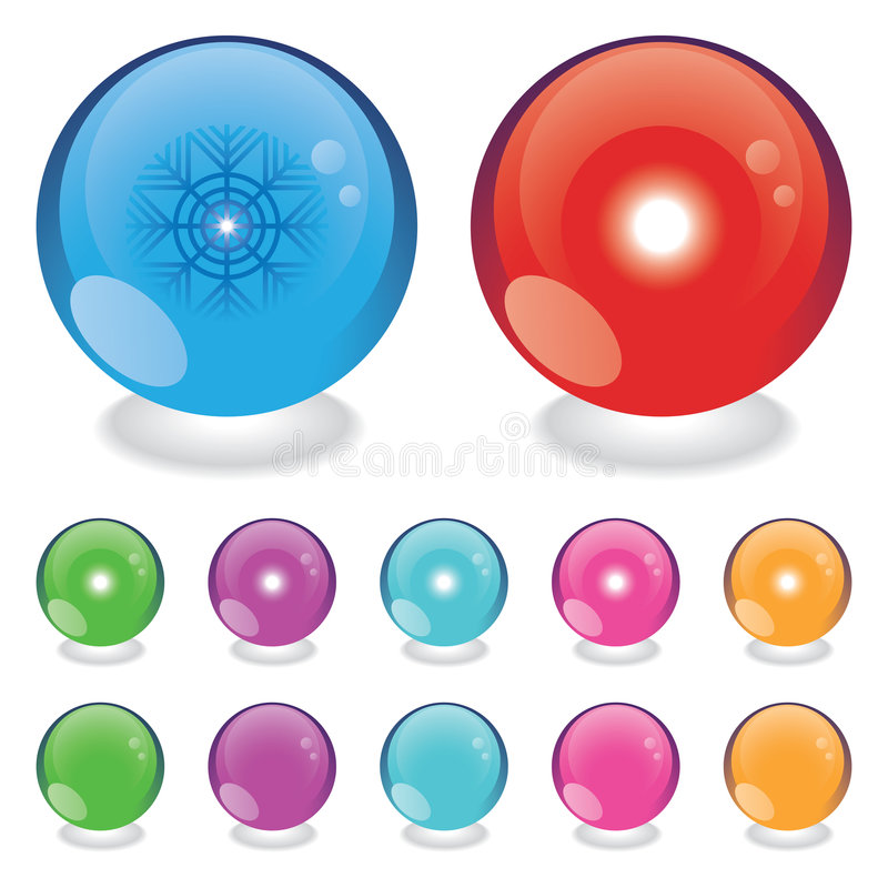 Download Light balls stock vector. Image of month, flake, snowflake - 3947089