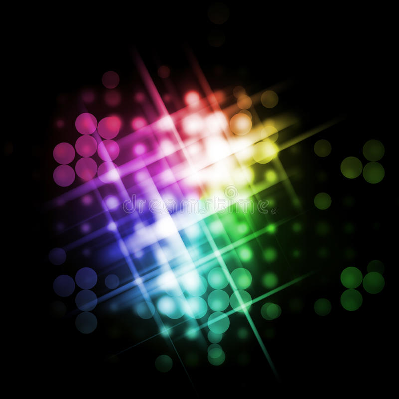 Download Light beams stock illustration. Illustration of digital - 15555317