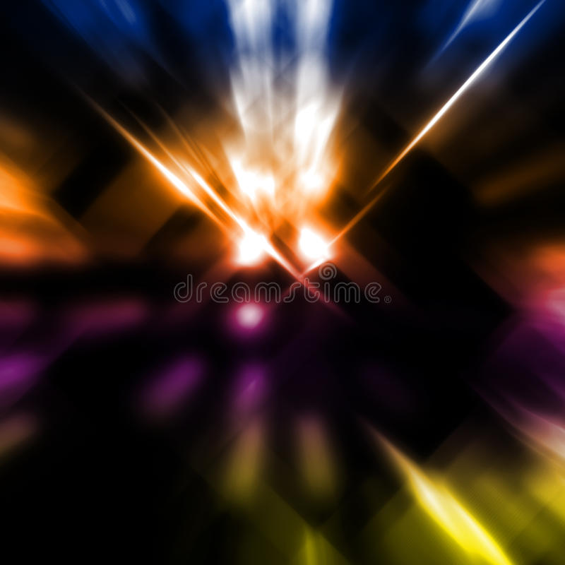 Light Beams Royalty Free Stock Images